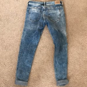 Abercrombie & Fitch Jeans - Abercrombie ripped skinny jeans mid light wash